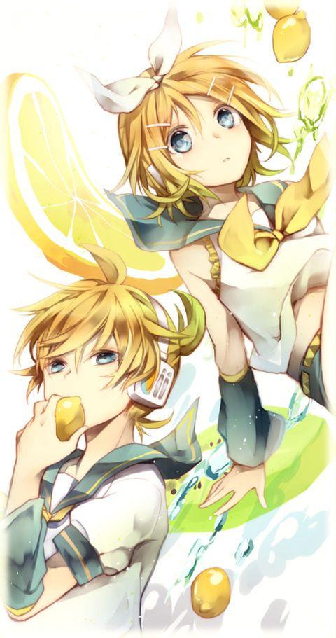 Vocaloids - Len & Rin Kagamine (鏡音レンとリン) -「゜。o」/「うたおり」のイラスト [pixiv]