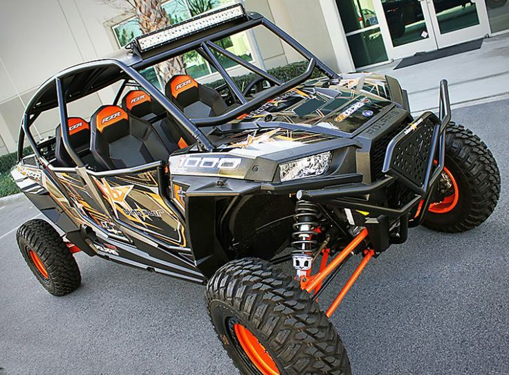 Gladiator Polaris RZR XP 1000 Front Bumper manufactured by Blingstar