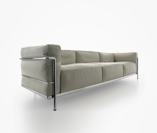 Lc3 sofa le corbusier 1928 cassina best design sofas for Le corbusier sofa nachbau