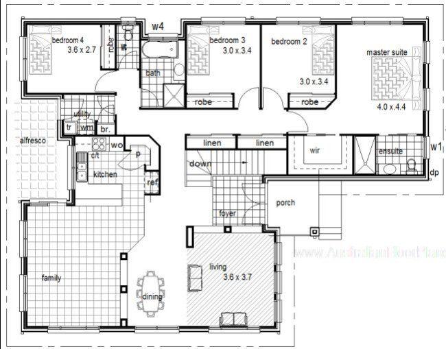 26 best homes for sloping land images – Hillside House Floor Plans