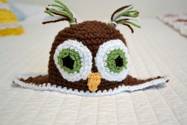 Crochet Tutorial Owl : crocheted owls