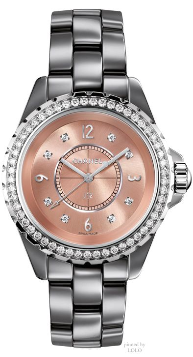 Rose pink watch [ FinestWatches.com ] #fashion #watch #design
