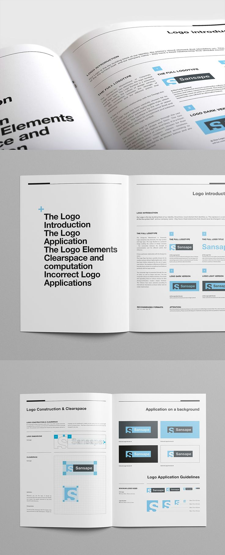 Brand Manual and Identity Template – Corporate Design Brochure – with 40 Pages and Real Text!!!Minimal and Professional Brand Manual and Identity Brochure template for creative businesses, created in Adobe InDesign in International DIN A4 and US Letter…