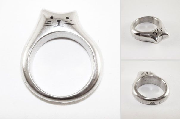 kitty ring!   23 Great Gift Ideas For Cat Lovers | Bored Panda