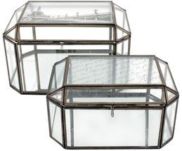 Glasboxen-Set Treasure, 2-tlg.