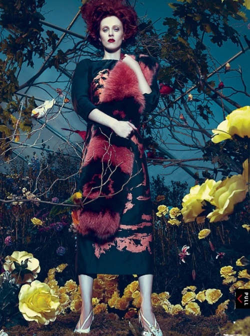 Vogue US January 2013 / #fashion #photography #editorial