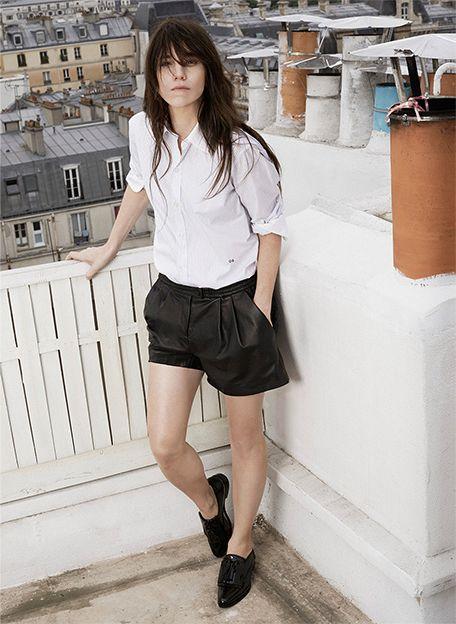 Шарлотта Генсбур для Net-A-Porter   Bazaar.ru
