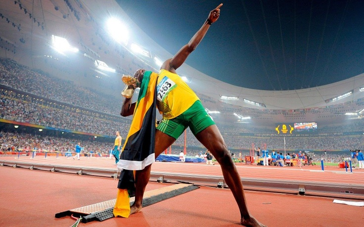 Bolt Signature - Olympic Games 2008, Beijing