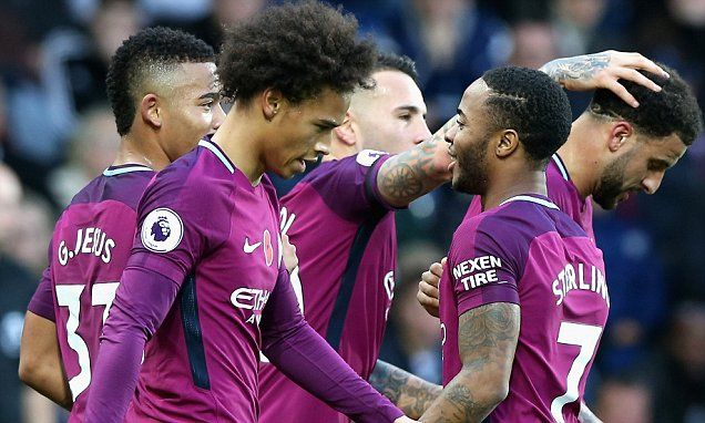 West Brom 2-3 Manchester City: Sane and Sterling on fire