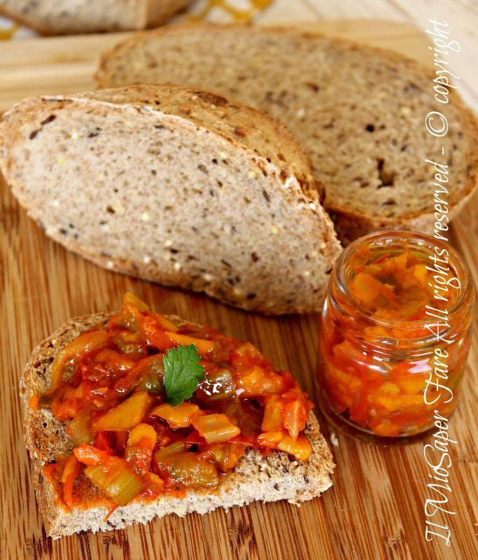 Salsa peperoni ricetta facile di Antonella il mio saper fare