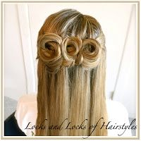Locks and Locks of Hairstyles: Quick and Easy Video Tutorials: Up Do's