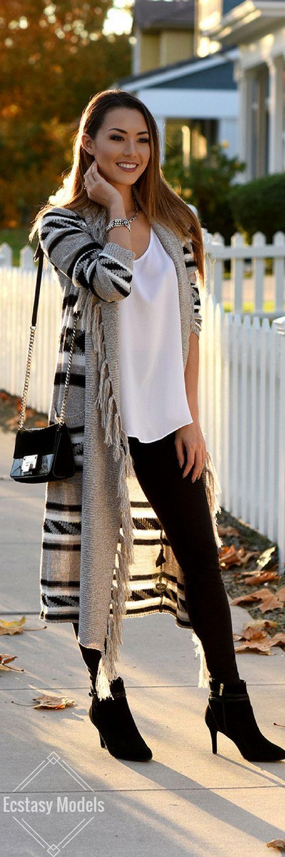 Cozy Cardigan Look // Fashion Look by Jessica Ricks