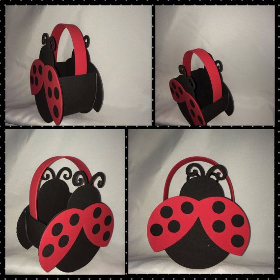 lady bug ladybug party bags favors by titaspartycreations on Etsy