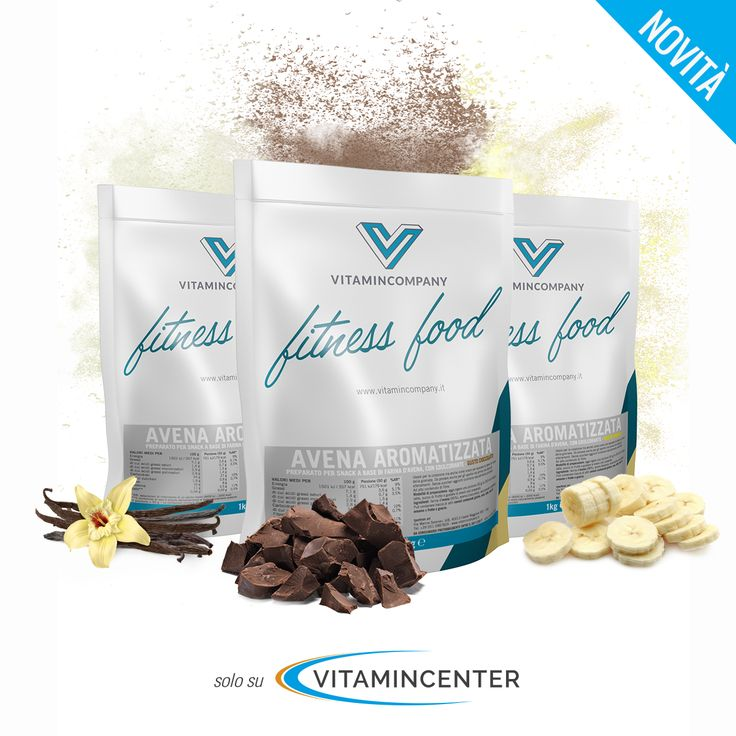 Scopri la nuova linea Fitness Food di Vitamincompany! - Farina d'avena aromatizzata. #fitness #food #farina #avena #cereali #sport #allenamento #palestra #fitness #bodybuilding #muscoli