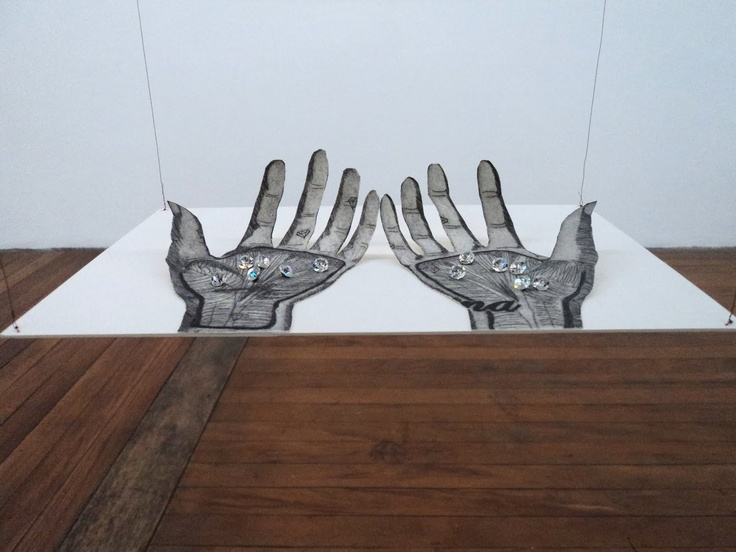 """as mãos"" de Leya Mira Brander"