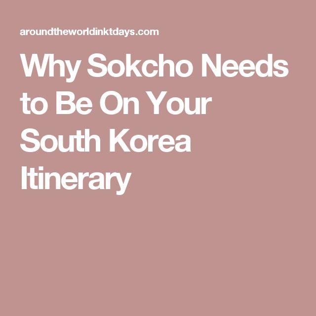 Why Sokcho Needs to Be On Your South Korea Itinerary