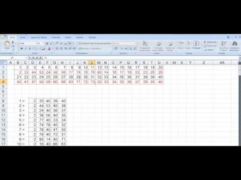 Como Jogar Com 40 Dezenas Na Quina De Sao Joao 2014 Youtube Periodic Table