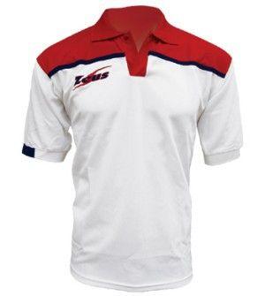 Fehér-Piros-Kék Zeus Negativo Rövid Ujjú Póló kényelmes, lágy, klasszikus viselet. Kopásálló, könnyen száradó, puha, strapabíró a műszálnak köszönhetően. Ideális választás, az egyszerű klasszikus viselethez, a teljes korosztály számára. Színkombinációk a ingpóló felső részénél. Fehér-Piros-Kék Zeus Negativo Rövid Ujjú Póló 10 méretben és további 7 színkombinációban érhető el.