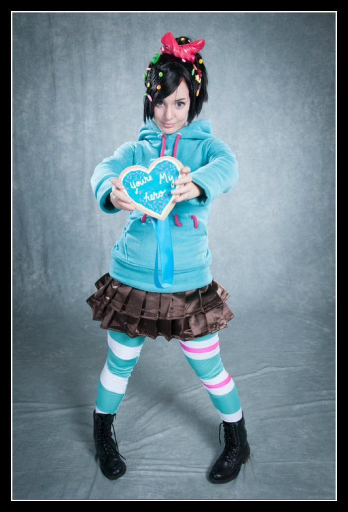 wreck it ralph girl costumes | Vanellope Costume