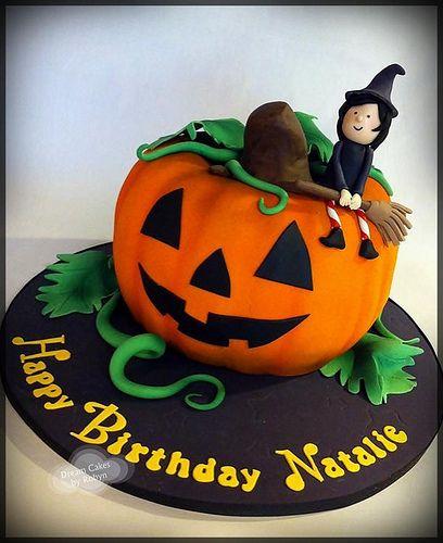 10 best halloween images on Pinterest Birthday party ideas - halloween birthday cake ideas