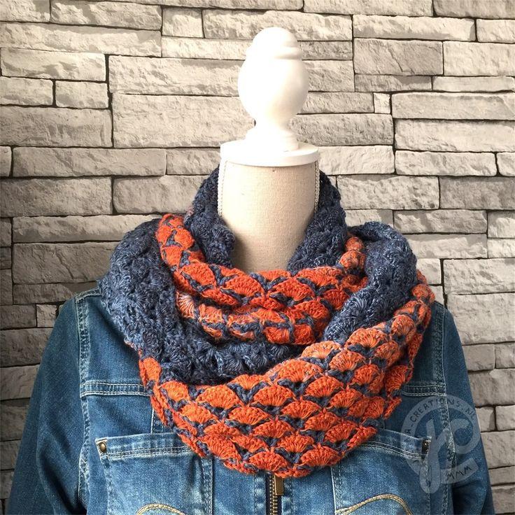 patroon olivia, de unicatcowl met een vleugje jeans | jellina-creations - blog | Bloglovin'