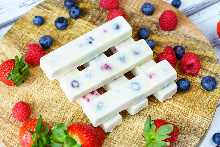 Frozen Yogurt Berry Bites - These make a DELICIOUS treat or also GREAT for smoothie Prep! When we keep it simple, we reach our goals :) Ingredients: 1/2 cup mixed berries of choice 1 cup Greek yogurt 2 Tbsps raw honey (to taste) 1/2 tsp vanilla extract Silicon molds (found on Amazon or in kitchen supply stores)...