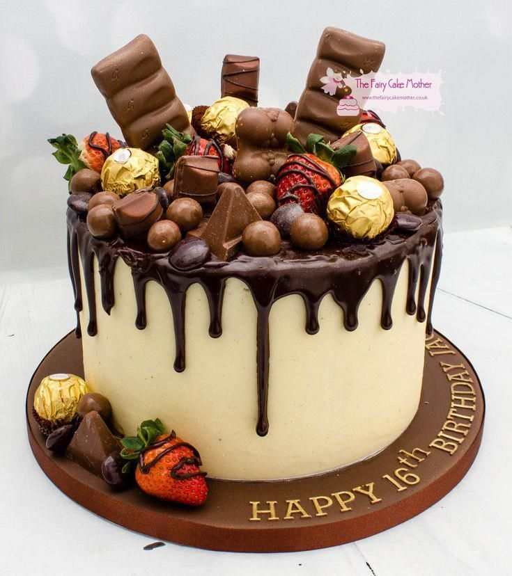 How To Make A Drip Cake To Wow The Party Birthday Cake Chocolate