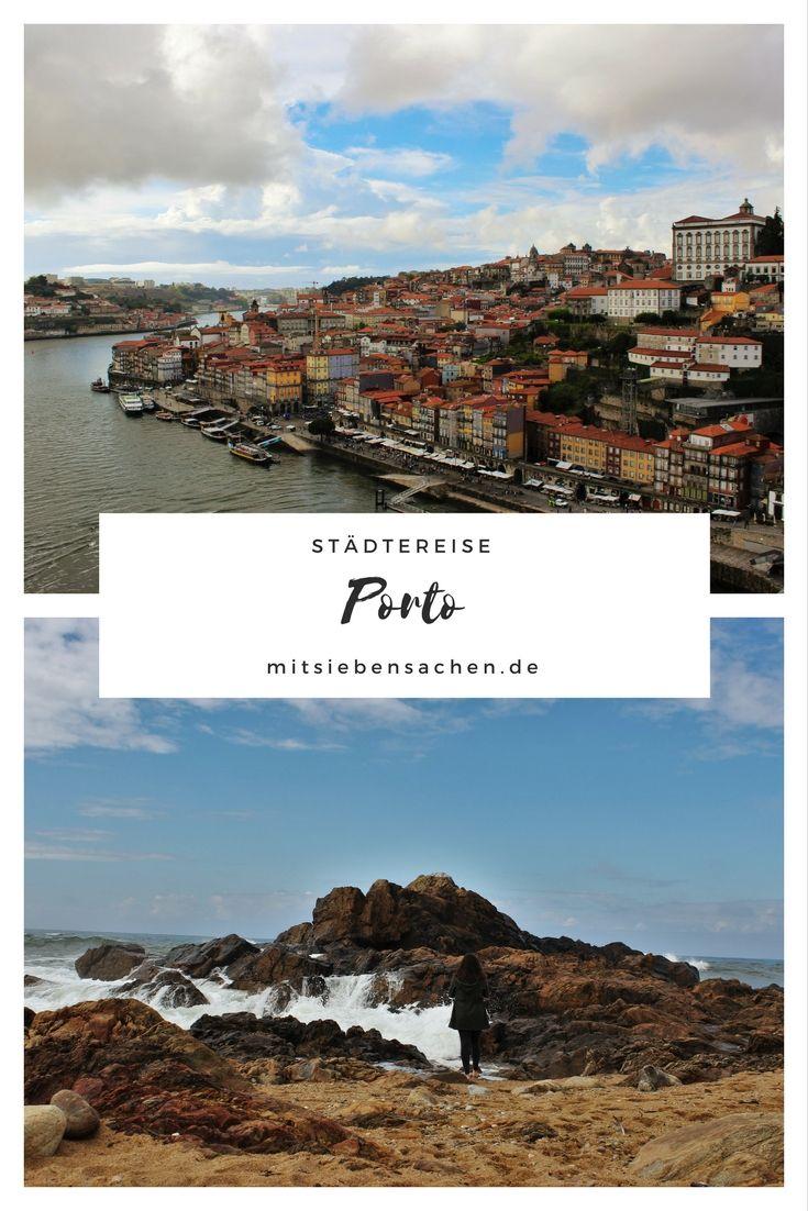 Porto zu Fuß Estação de São Bento (Bahnhof) Ponte Dom Luís I Livaria Lello (Buchhandlung) Atlantik-Küste Igreja dos Clérigos (Kirche) Ribeira (Altstadt) Porto bei Nacht