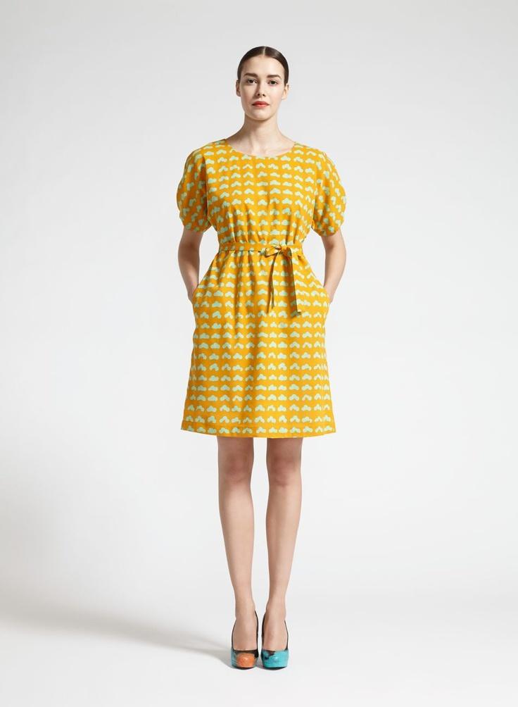 Pinkki-mekko (oranssi, mintunvihreä) | Vaatteet, Naiset, Mekot ja hameet | Marimekko