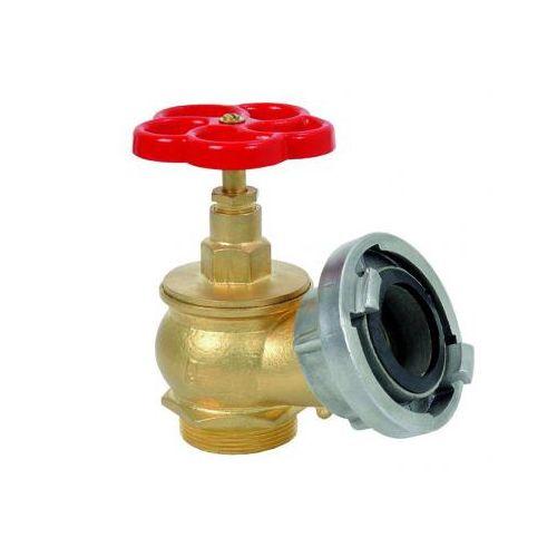 Robinet hidrant cu racord fix tip C se monteaza in cutia hidrantului pentru conectarea furtunului de refulare la alimentarea cu apa. Se racordeaza la reteaua cu apa prin filet, iar la furtunul de refulare prin sistemul STORZ.
