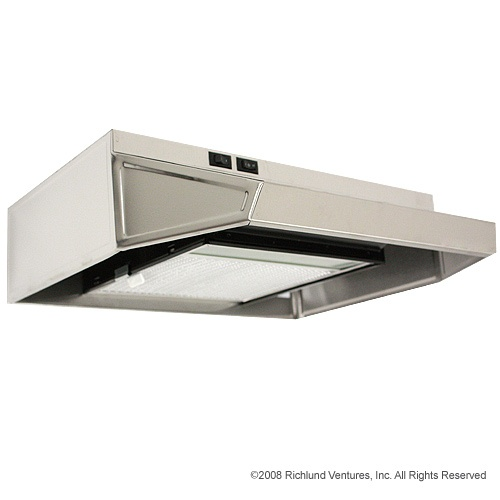 "170020SS - Summit Stainless Steel 20"" Recirculating Range Vent Hood  $130"