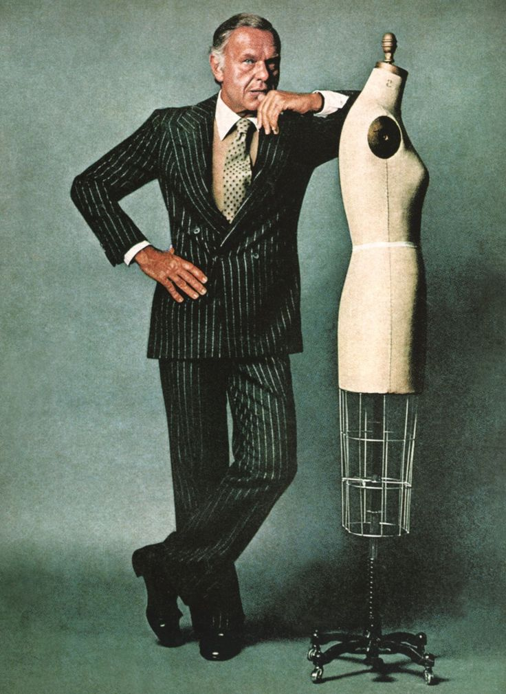 #DHPin2Win  Bill Blass American Fashion Designer and Design Leader. Famous for his great eye.
