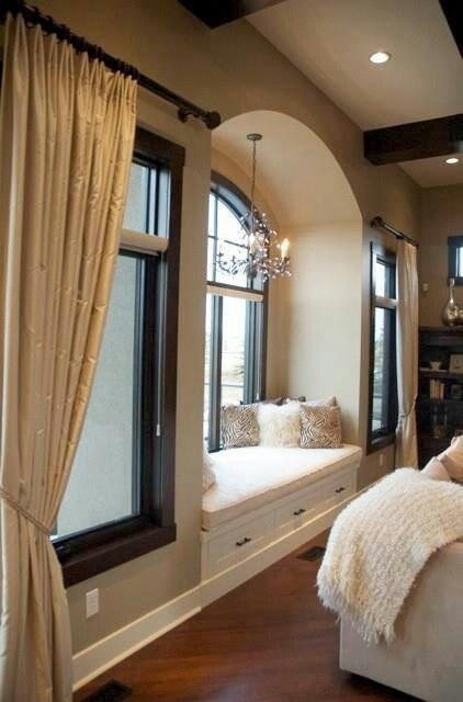 Every Bedroom Should Come Standard With A Cozy Bay Window