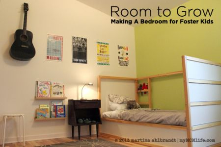 Guidelines for bedrooms for foster children.  Great ideas for rooms of unknown gender and age. Future reference guide for sure!