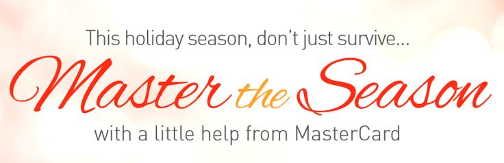 Win $50 MasterCard Prepaid Gift Card! (sponsored) giveaway ends 12/9 from Must Have Mom! master card holidays