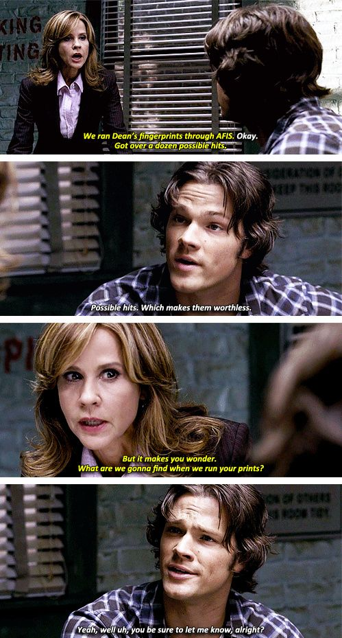 [gifset] 2x07 The Usual Suspects #SPN #Sam
