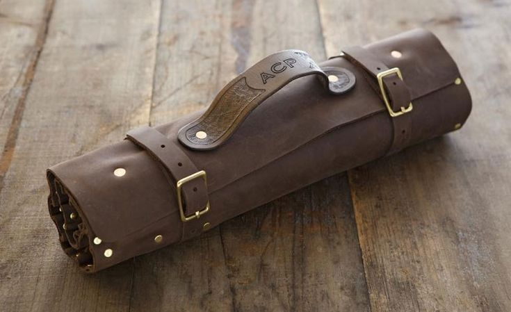 Own The Leather Knife Roll Professional Chefs Use