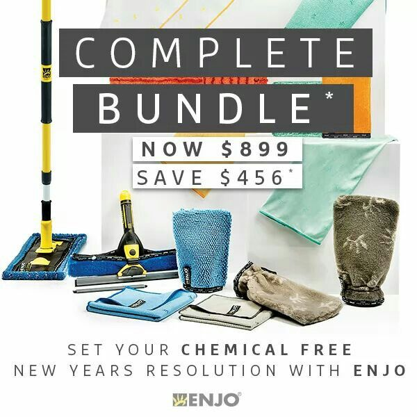 With everyone congregating at home to enjoy the holiday season, it feels great to create a clean and festive setting you can enjoy inside and out. The Complete Bundle has everything you need to have the whole house clean and ready to go for the relatives to start rolling in! Buy online: http://ow.ly/IAgJ306mxEp or through your local ENJOpreneur.