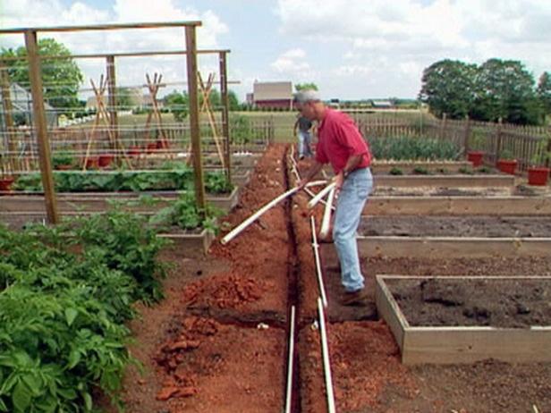 soaker hose irrigation system