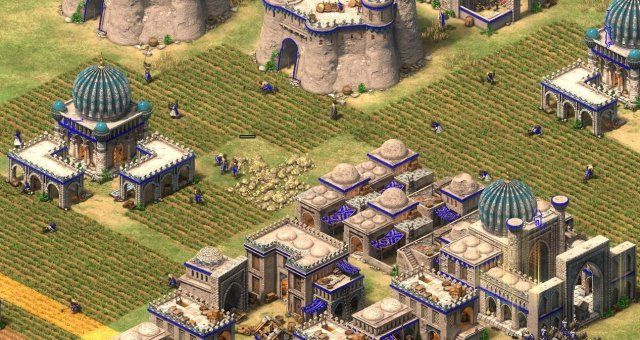 Age Of Empires Ii Definitive Edition Simple Fast Castle Build Order Age Of Empires Castle Empire