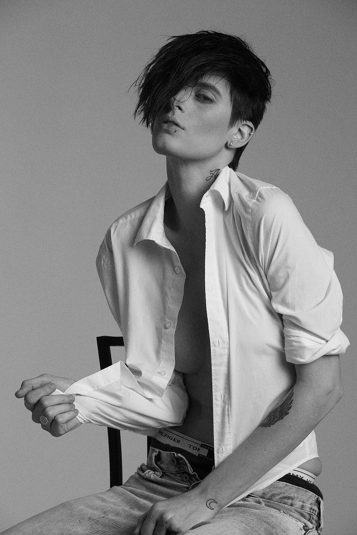 #androgyny #tomboy #style #tattoo   Tomboys   Pinterest ...