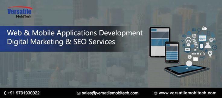 Web and Mobile Applications Development Services in India Infographic
