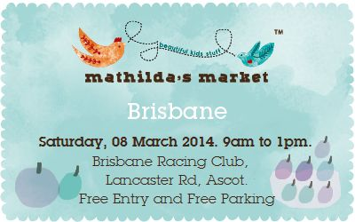 The Bathtime Boo team are very excited to be going to Mathilda's Market in the New Year