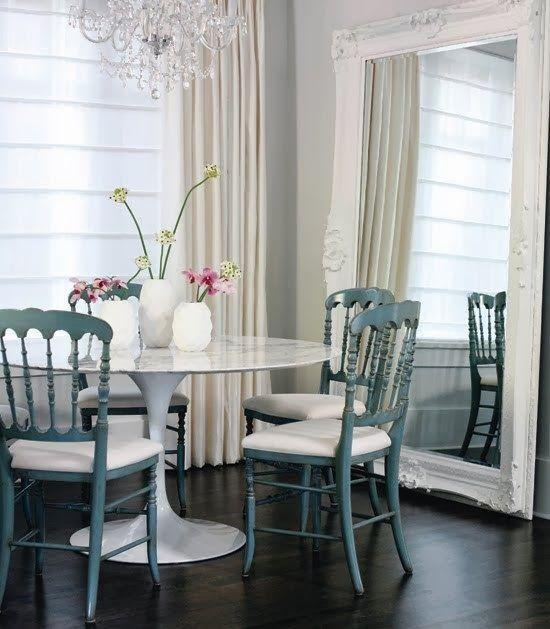 Simple Details: ikea docksta table...
