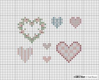 FREE Antique hearts download | Cross Stitcher
