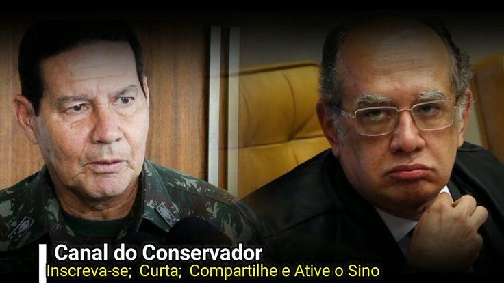Gilmar Mendes terá um encontro marcado com o general Mourão