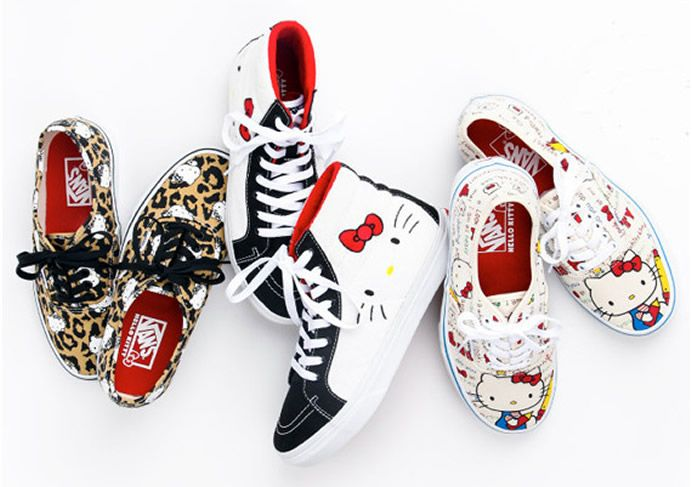 VANS x Hello Kitty Summer 2014 collection