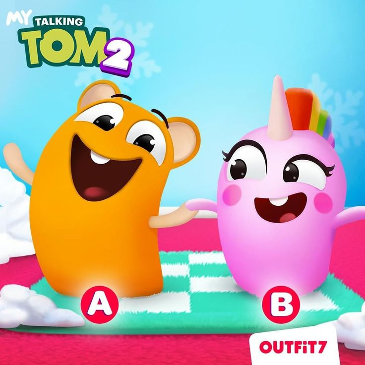 Who's your favorite MyTalkingTom2 pet?! Tell me 💛 for