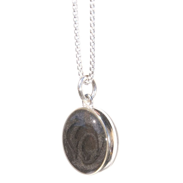 12mm Double-sided Cremation Pendant. www.etsy.com/shop/closebyme