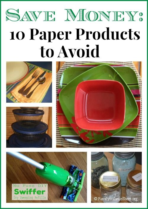 Do you want to save some money? Stop using these 10 Paper Products and replace them with reusable versions.